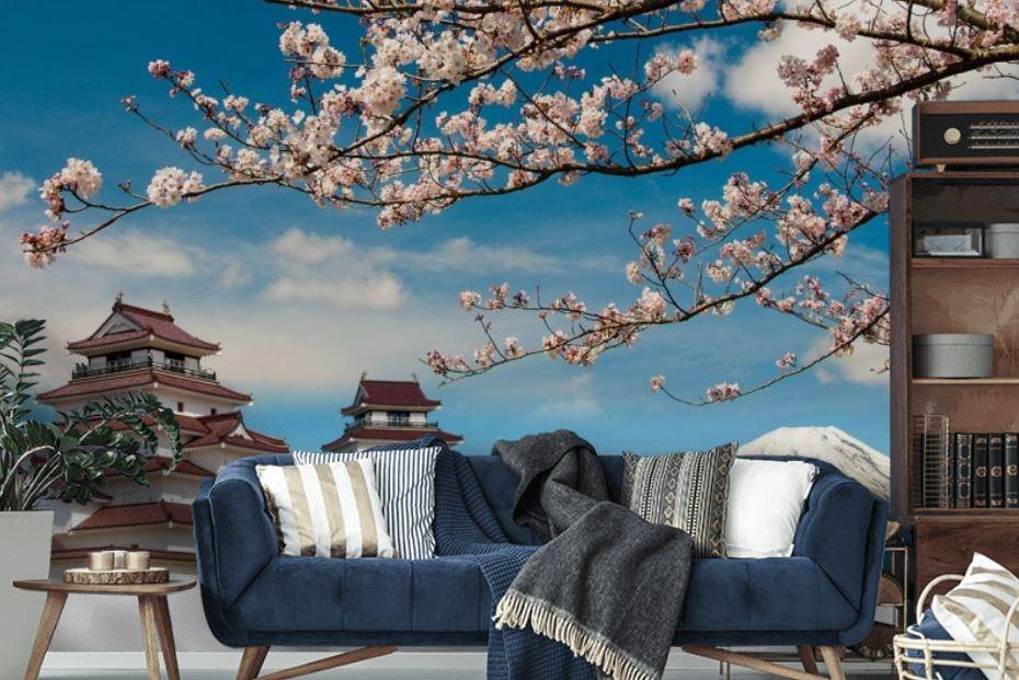 Fototapety Japonia: niepowtarzalne malarstwo i piękne krajobrazy do dekoracji