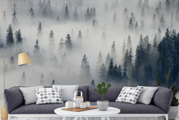 Jeden z najbardziej popularnych motywów, wybieranych przez naszych klientów - to tajemniczy mglisty las