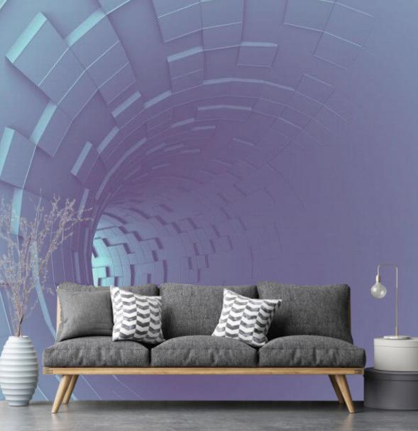 Fototapety przedstawiające tunel