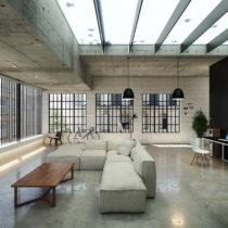 Artystyczna perfekcja loftu pozwala stworzyć pomieszczenia mieszkalne w pozornie nienadających się do zamieszkania wnętrzach