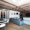 Design neo-loft, w przypadku gdy zwykłe mieszkanie urządzone jest w duchu industrialnym, można wykorzystać nasze tapety w stylu loft z cegłą