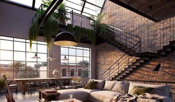 Luksusowy loftowy penthouse w Nowym Jorku