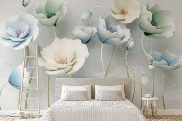 Bajkowe trójwymiarowe kwiaty zamienią pokój w prawdziwą Krainę czarów. Zostaje tylko patrzeć, czy nie przebiega gdzieś obok Biały Królik.