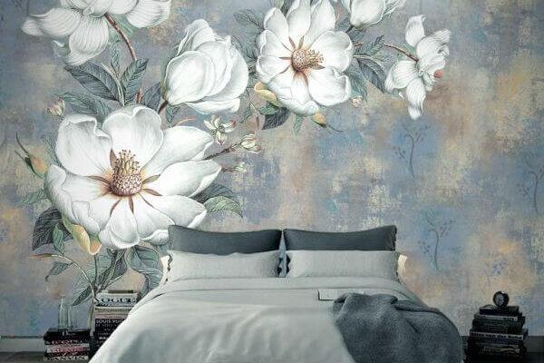 Magnolia kwitnie bardzo krótko - chyba że umieścimy ją na swojej ścianie. Taka wspaniała tapeta będzie cieszyć oko przez długi czas.