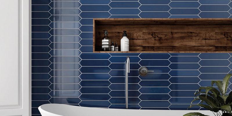Drewniane elementy we wnętrzu mogą być stylowe, lecz niepraktyczne. Wybierz płytki, które imitują drewno.