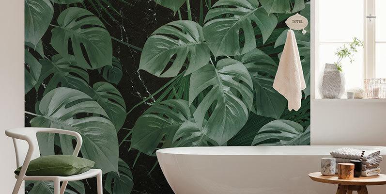 Tapeta w łazience - to szybkie i efektowne rozwiązanie