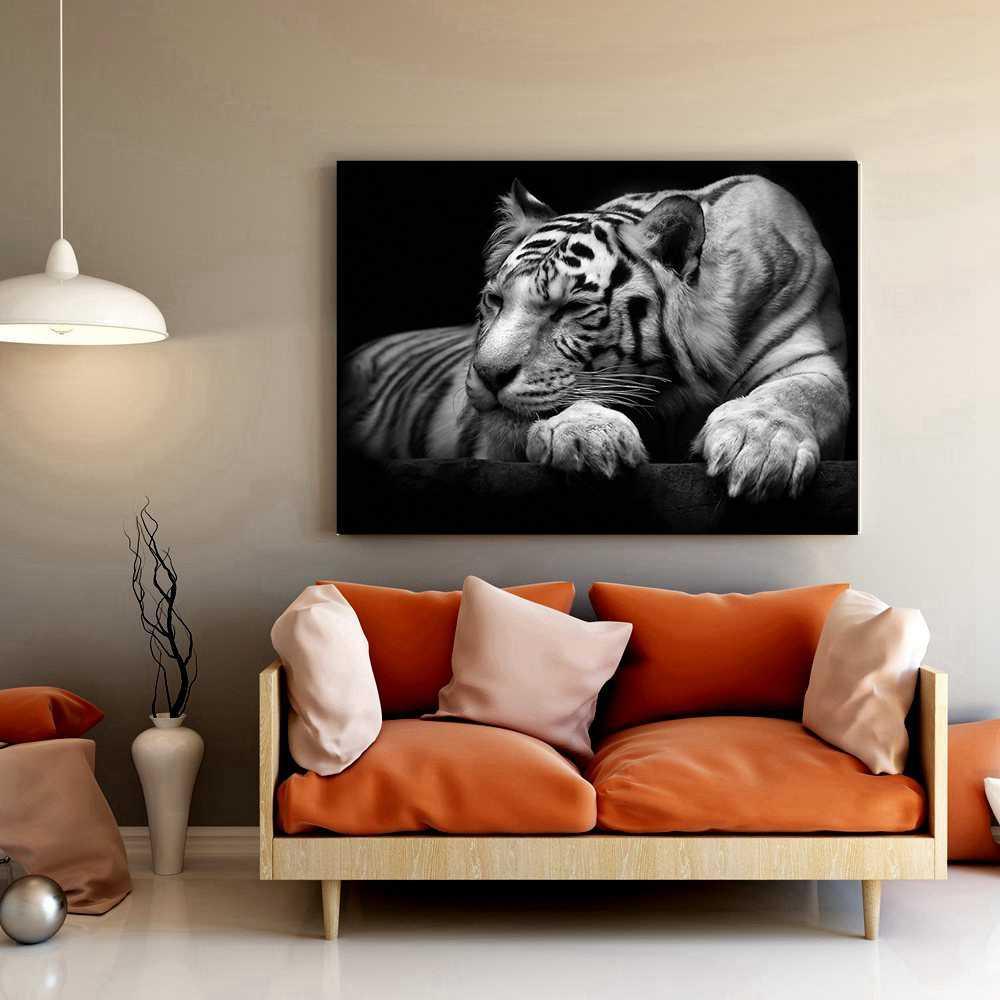 10 minimalistycznych obrazów ze zwierzętami - styl w szczegółach