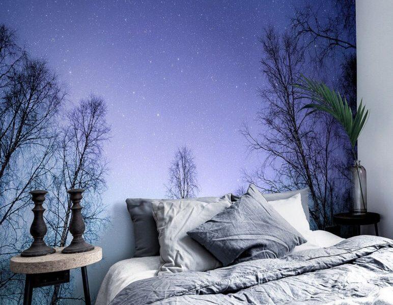 Gwieździsta noc w sypialni pomoże się zrelaksować i odpocząć