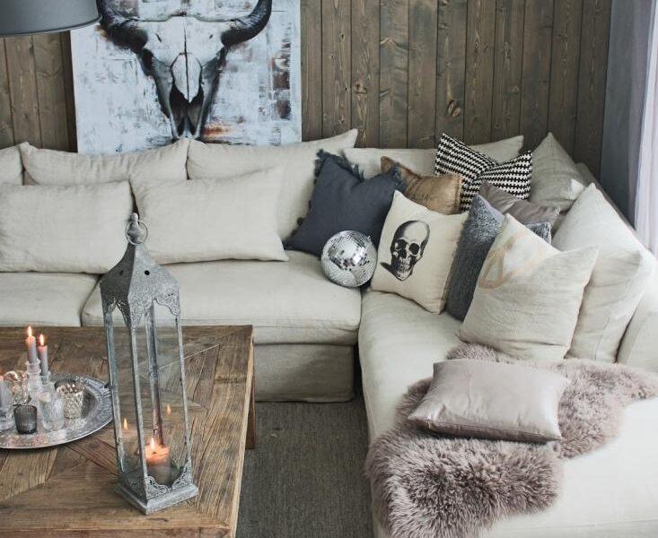 Obrazy także mogą być ozdobą domu w rustykalnym stylu