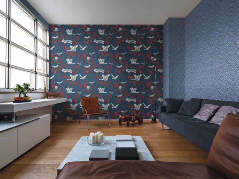 Połączenie różnych wzorów w jednym pomieszczeniu - to trudne, aczkolwiek warte wysiłku zadanie!