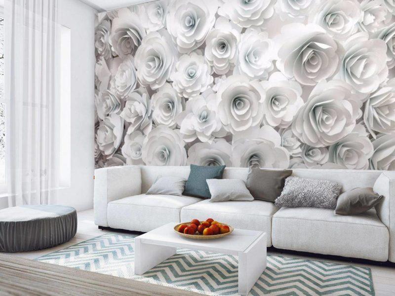 Białe ściany nie muszą być nudne