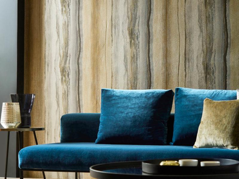 Ekologiczna klasyka - fototapeta, imitująca drewno. Doskonale łączy się z głębokimi, naturalnymi kolorami we wnętrzu
