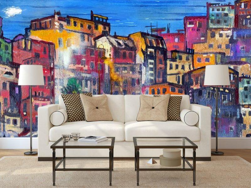 Współczesna sztuka może wyjść za ramki i zająć całą ścianę