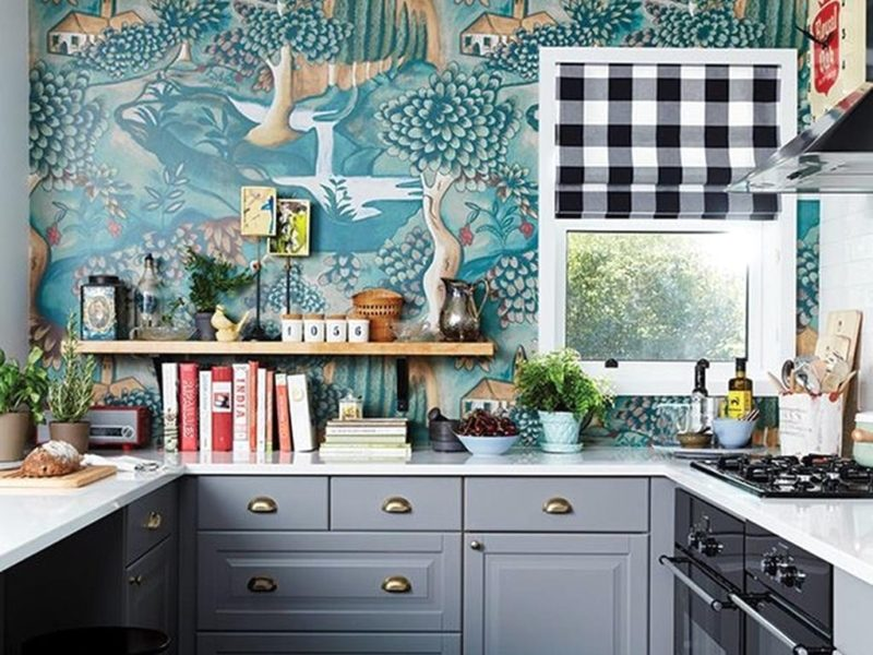 Drawer Organisers 51374+ Best 25 Kitchen Wallpaper Ideas On Pinterest Wallpaper Ideas - Kitchen Wallpaper Idea 2019
