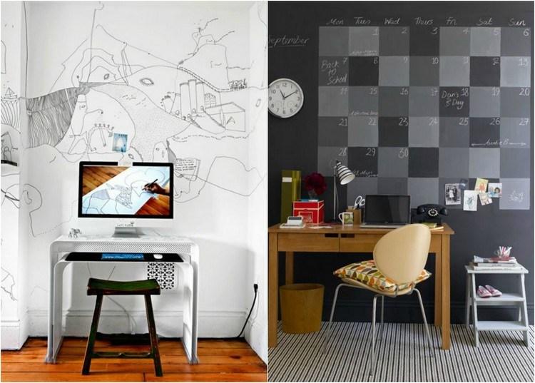 W domowym biurze sprawdzą się fototapety z indywidualnym nadrukiem