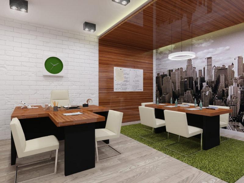Widok tętniącego życiem miasta nie traci swojej aktualności i zdobi nasze biura nawet w 2021 roku