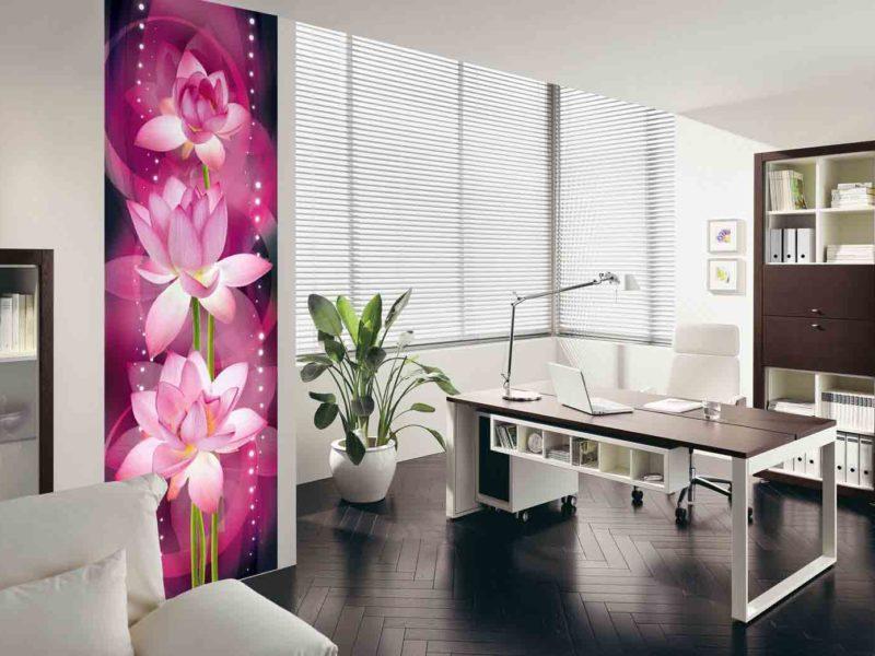 Fototapeta nie musi zajmować całej ściany. Nawet niewielki soczysty akcent może odmienić wygląd pomieszczenia
