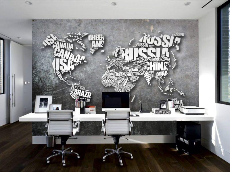 Mapa świata stanie się stylowym dodatkiem, jednocześnie pełniąc funkcję edukacyjną