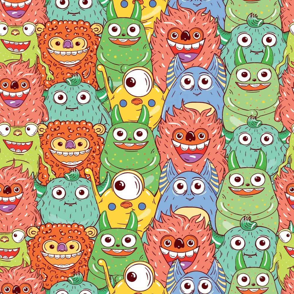 Tapeta Potwory
