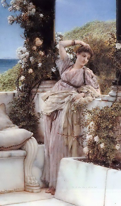 Obraz Lawrence Alma-Tadema, You are the best of all roses