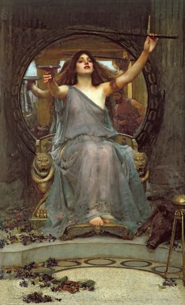 Obraz John William Waterhouse, Reprodukcja Circe Offering the Cup to Ulysses