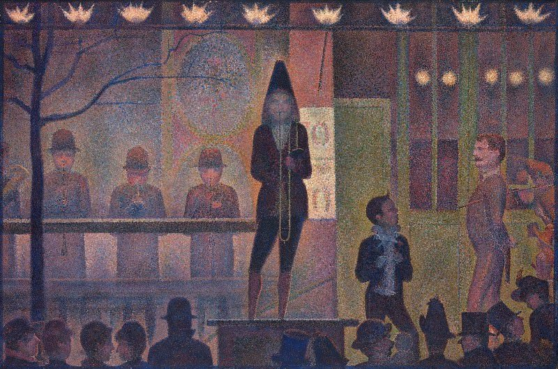Obraz Georges Seurat, In the circus