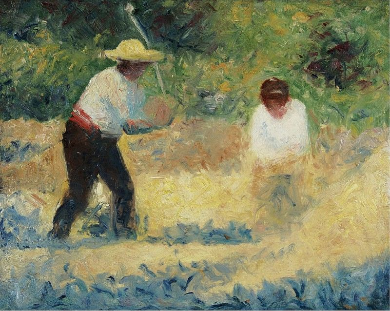 Obraz Georges Seurat, Carrying Stones
