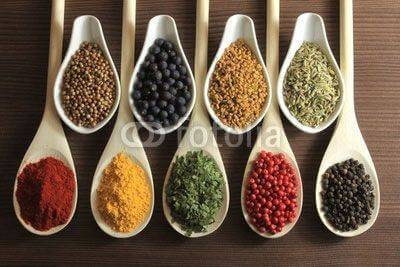 Fototapeta Spices and herbs