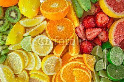 Fototapeta fruit background
