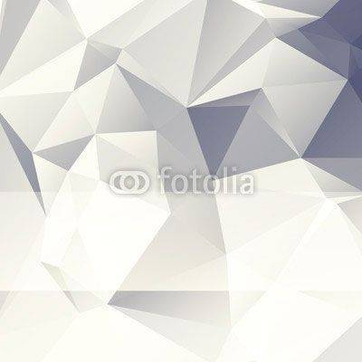 Fototapeta triangular style paper abstract background