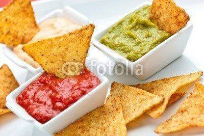 Fototapeta tortillas chips